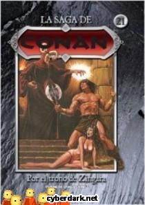 Por el Trono de Zingara / La Saga de Conan 21 - cómic
