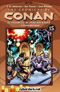 El Pasadizo de Mullah-Kajar / Las Crónicas de Conan 15 - cómic
