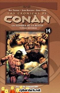 La Sombra de la Bestia / Las Crónicas de Conan 14 - cómic