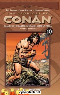 Cuando los Gigantes Caminaban sobre la Tierra / Las Crónicas de Conan 10 - cómic