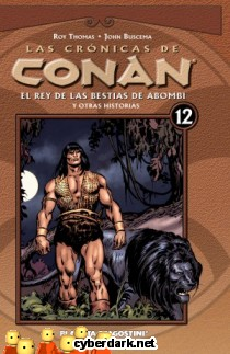 El Rey de las Bestias de Abombi / Las Crónicas de Conan 12 - cómic
