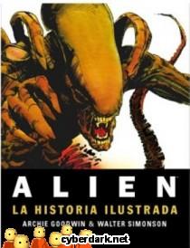 Alien, la Historia Ilustrada - cómic