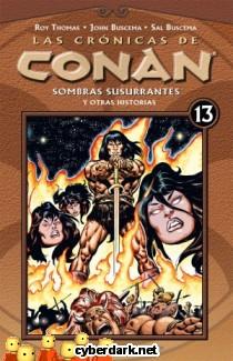 Sombras Susurrantes / Las Crónicas de Conan 13 - cómic