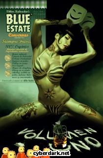 Blue Estate 1 - cómic