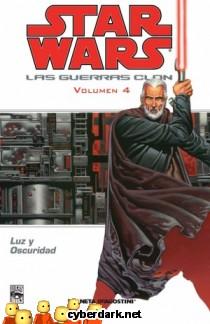 Luz y Oscuridad / Star Wars: Las Guerras Clon 4 - cómic