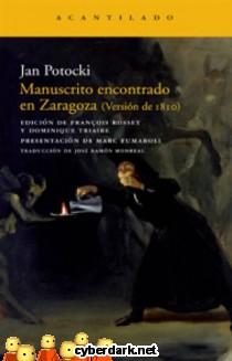 Manuscrito Encontrado en Zaragoza (Versión de 1810)