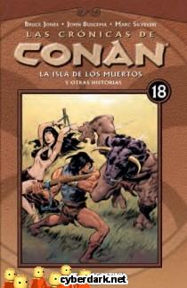 La Isla de los Muertos / Las Crónicas de Conan 18 - cómic