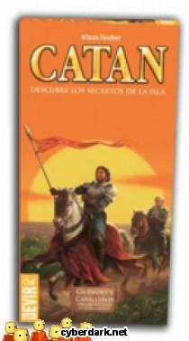 Los Colonos de Catán: Extensión Ciudades y Caballeros - Extensión 6 jugadores