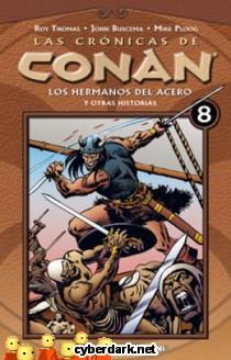 Los Hermanos del Acero / Las Crónicas de Conan 8 - cómic