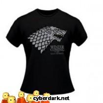 Camiseta Logo Stark Game of Thrones