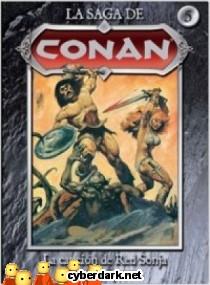 La Canción de Red Sonja / La Saga de Conan 5 - cómic